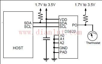 基于DS620的数字温度调节及监控器电路