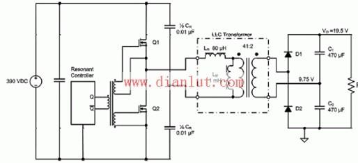 llc串联谐振电源转换器工作原理基础电路