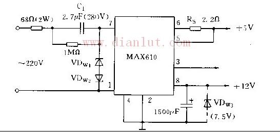 基于MAX610芯片制作扩流电路