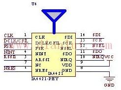 PHY模块接口电路原理图
