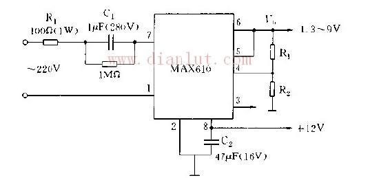 电压可调电路基础电路