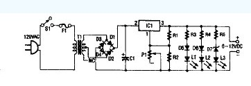 电流可变电源示意图