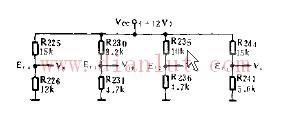 简易分组电压电路
