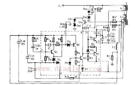 【图】开关电源电路原理图基础电路