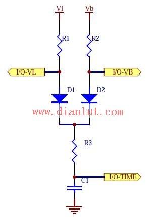 锂电池电压检测电路原理图