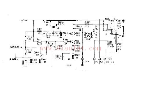 【图】视频信号放大电路原理基础电路