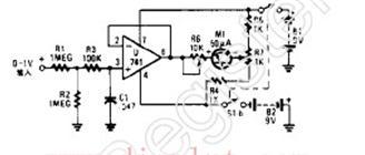 晶体三极管检测器电路图