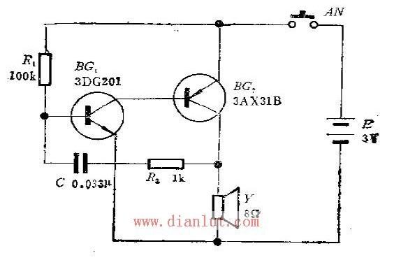 单音电子门铃的设计