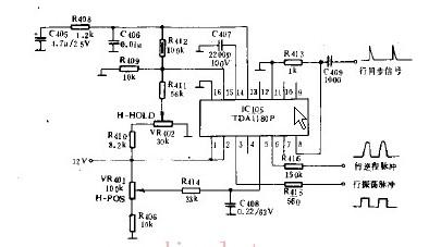TDA1180P实际应用电路图的介绍