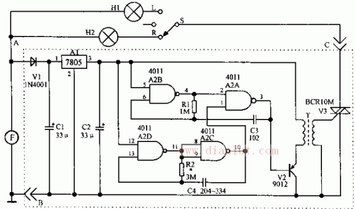 摩托车无触点闪光器电路的介绍