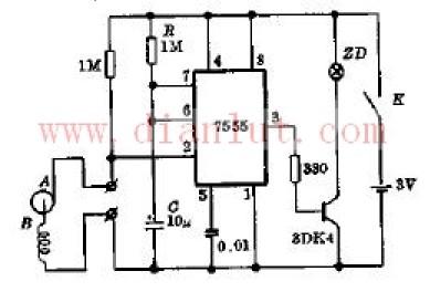 【图】电子报靶器电路原理图基础电路 电路图 捷配