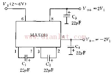 基于max680的基本应用电路图及说明