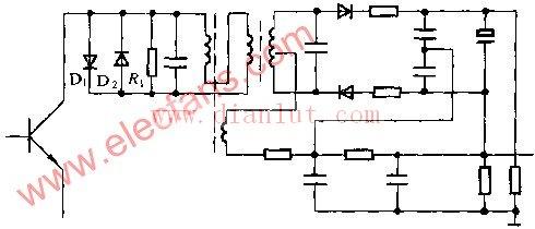【图】能抑制电视机蜂音的电路图及工作原理基础电路