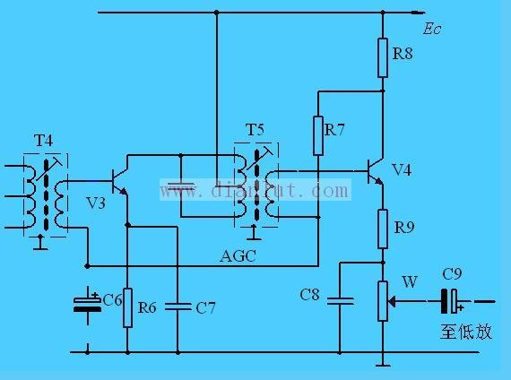 三极管检波电路的分析介绍