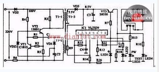 实用万能充电器的电路分析