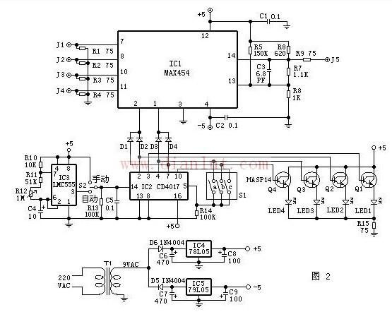 【图】新型视频切换器电路基础电路
