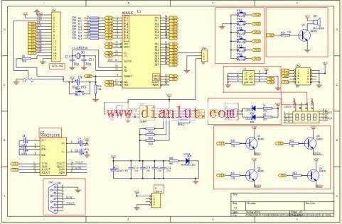 【图】简单介绍stc单片机开发板制作步骤基础电路 图