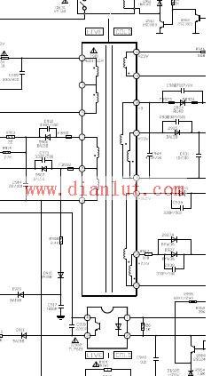 介绍创维6d95,6d96机芯电路的电源板电路