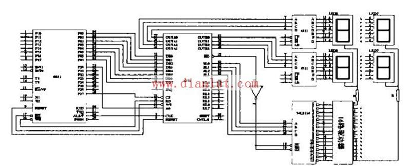 采用intel8279设计多数字数码管显示驱动电路