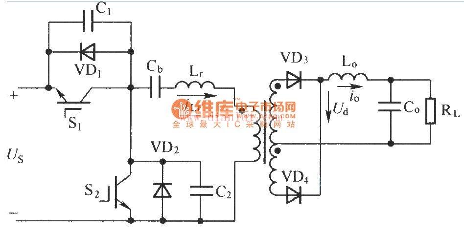 【图】半桥不对称的pwm控制变换器主电路的应用其它