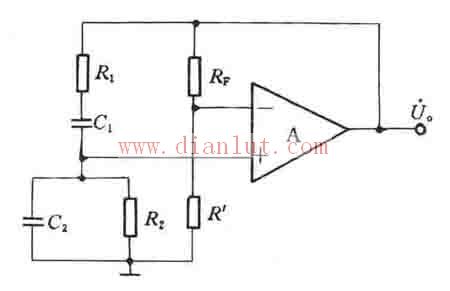 采用集成运放设计rc正弦波振荡电路