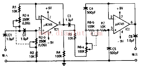 【图】音频滤波器工作原理电路图其它电路图