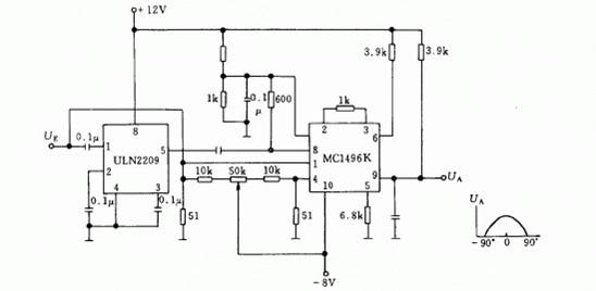 调制解调检波器电路图