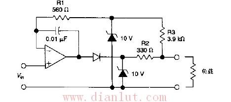 首页 电路图 其它电路图 >> 电压电流内置来安全保护电路的运算放大器