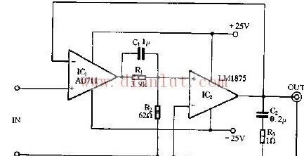 【图】优质音频功率放大器其它电路图