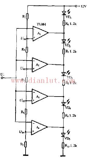 简易电压值比较电路