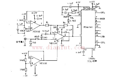 【图】前置放大模数转换电路其它电路图