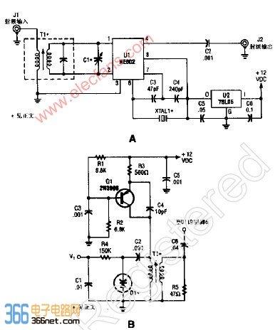 【图】单片晶控变换器电子电路图其它电路图