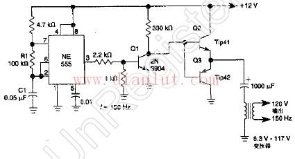 简易实用逆变器电路