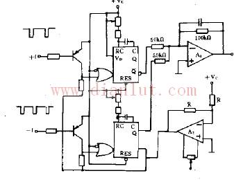 用于双极性频率、电压转换的电路