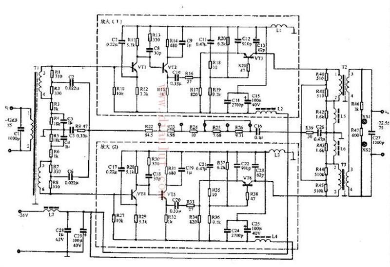 【图】并联式频谱放大器工作原理其它电路图