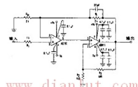 基于AD811芯片设计快速复合放大器