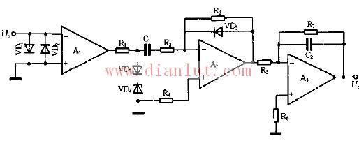 采用放大器设计频率—电压变换电路