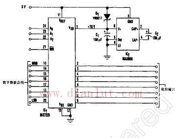 数模转换器(dac)要在vd0和参考电压之间3