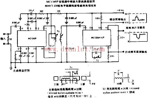 中频放大器电路原理图线性放大电路 电路图 捷配电子市场网