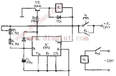 【图】采用d触发器的定时电路其它电路图
