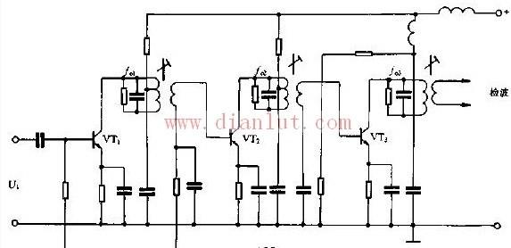 【图】简易电视机图像中放电路线性放大电路