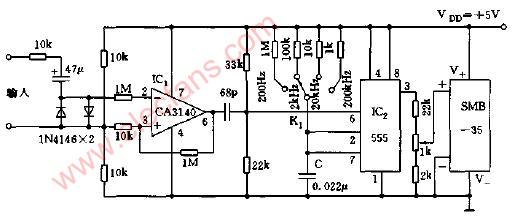 频率计数器电路