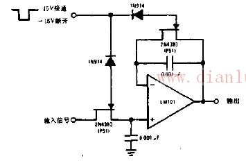 【图】jfet采样和保持电路线性放大电路