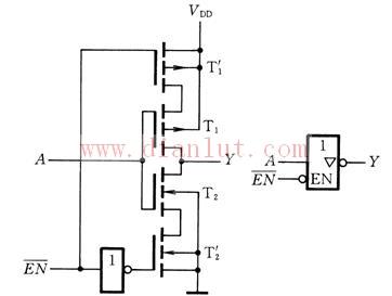 【图】cmos三态门电路原理图基础电路