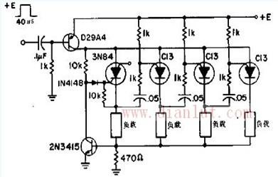 低成本的环形计数器电路