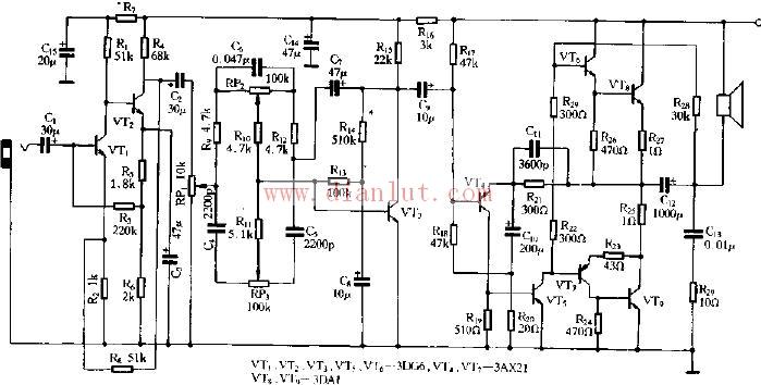 半导体扩音机电路