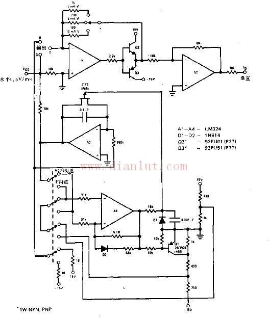 【图】场效应管特性曲线图示仪电路原理图线性放大