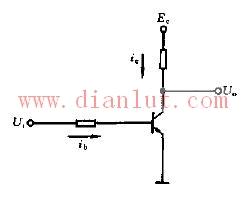 三极管共发射极电子电路图