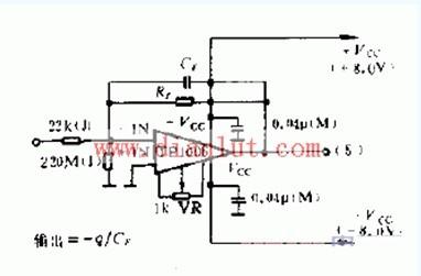 电荷型放大器电路电路图