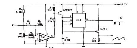 简易高效压频变换器电路